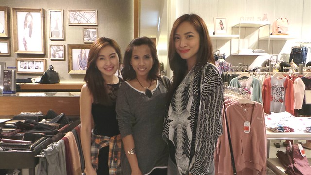with beautiful Angela Nepomuceno and Jackie Go