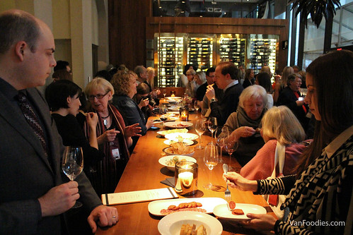 Celebrating over food & wine