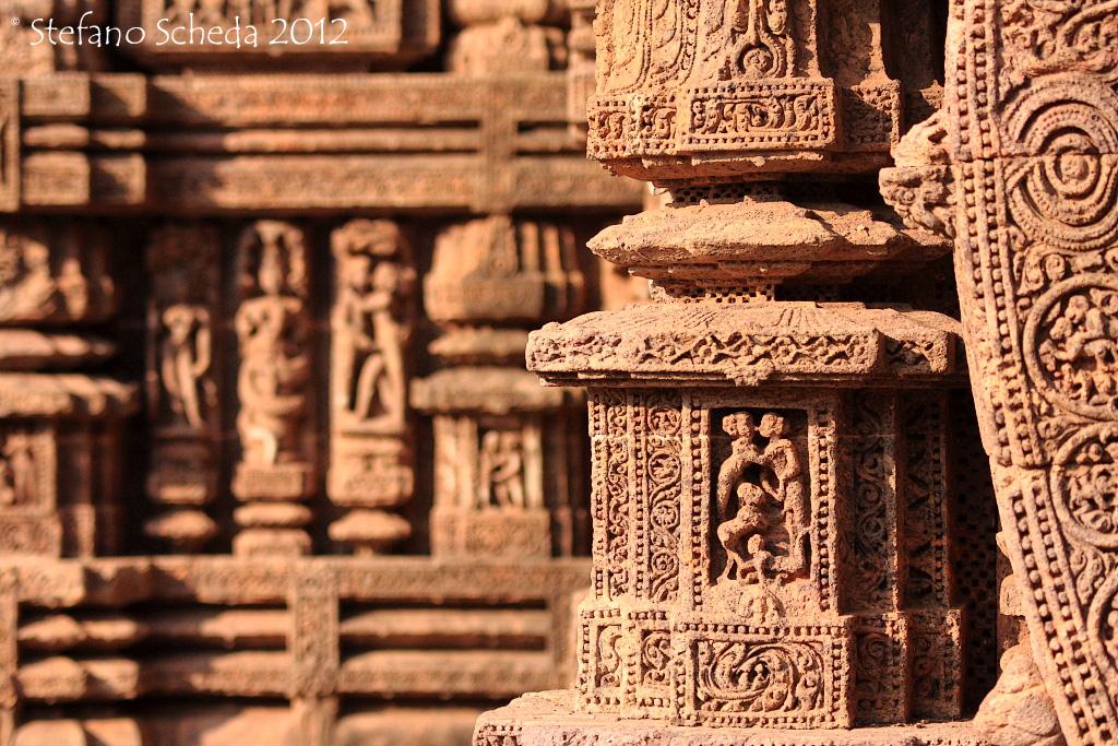 Konark Sun temple - Orissa, India