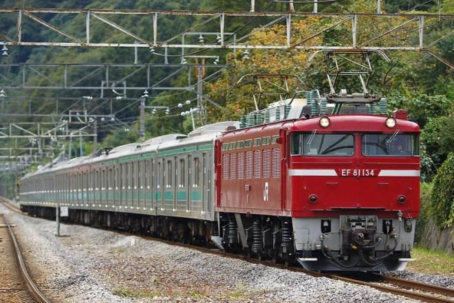 埼京線205系ハエ25編成 海外譲渡輸送