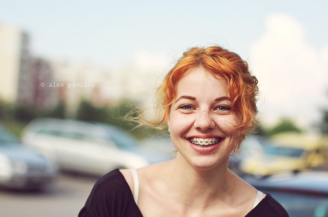 Streets of Sofia: Portraits of strangers - Iva