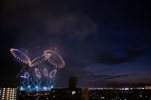 -If everyone makes fireworks instead of bombs, there wouldn't be a war...- by Paul Uehaller
