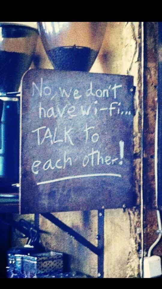 No Wi-Fi