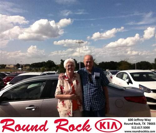 Thank you to Kendal  Calhoun on your new 2014 Kia Forte from Derek Martinez and everyone at Round Rock Kia! by RoundRockKia