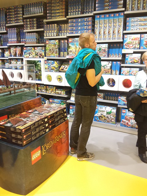 Lego Store Opening