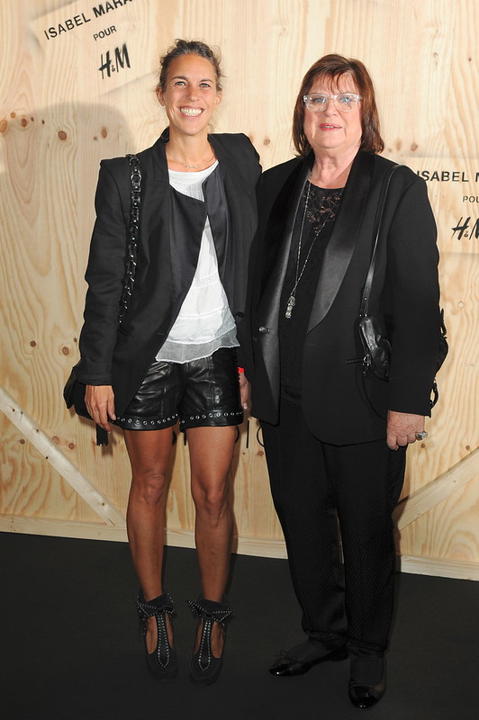 Isabel Marant and Margareta van den Bosch