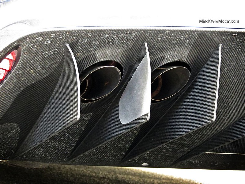 Aston Martin One-77 Exhausts