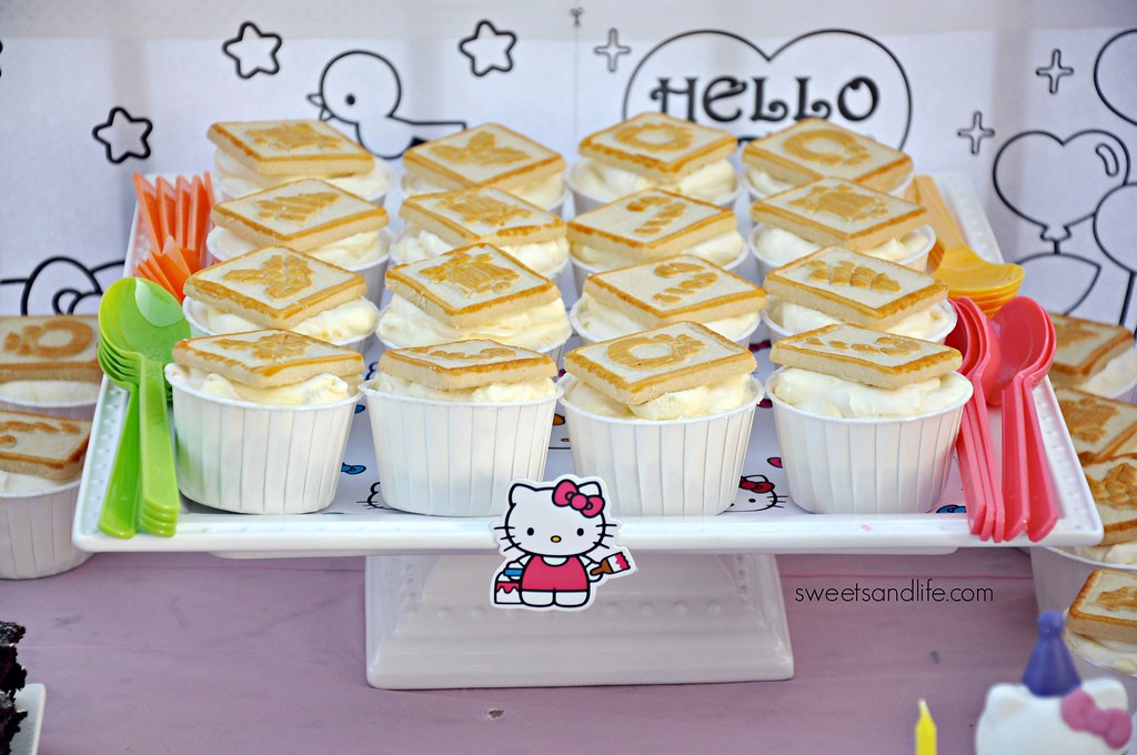 Hello Kitty Banana Pudding