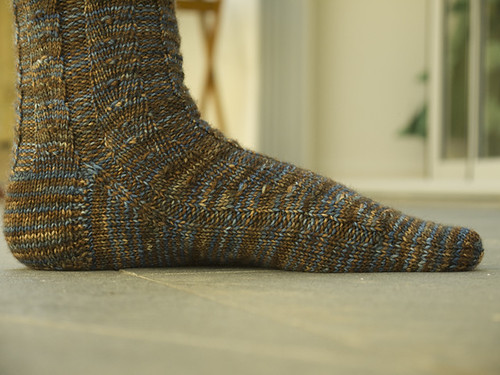 Side View of Primavera Sock
