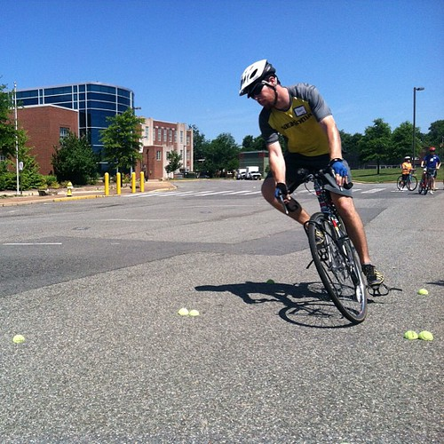 Free today? Take a Confident City Cycling class! 2 p.m., Washington Middle School, Alexandria