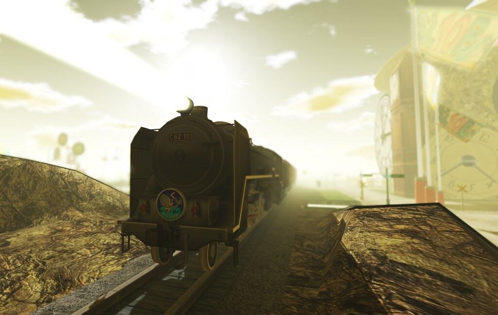 A train at SL10BCC