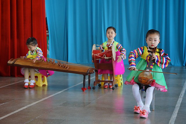 Kindergarten Performance Chongjin, North Korea