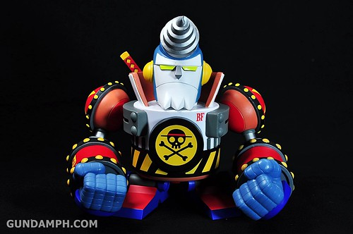 Banpresto One Piece WCF Mega Franky Shogun Review (12)