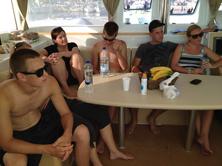 Boat briefing