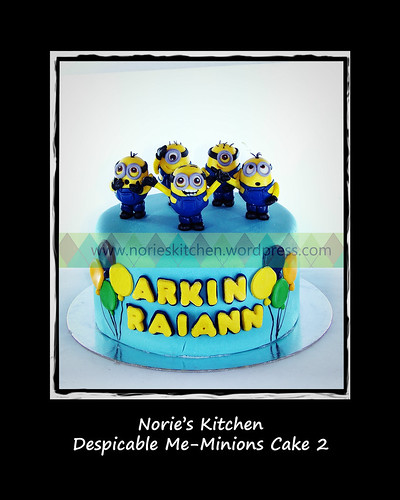 Norie's Kitchen - Despicable Me - Minions Cake 2 by Norie's Kitchen