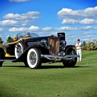 St. Michaels Concours d'Elegance: 1932 Auburn 12-160A Boattail Speedster