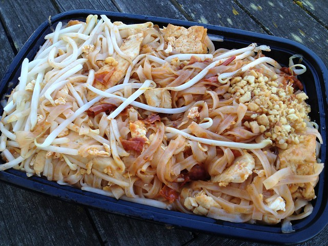 Chicken pad thai - Sweet Basil Thai Cuisine