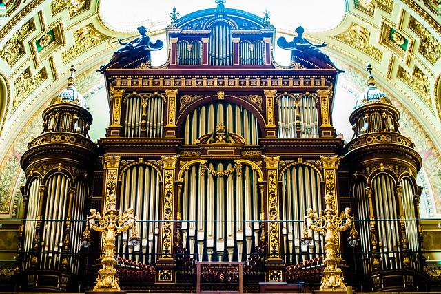 Organ, St. Stephen's Basilica, Budapest, Hungary