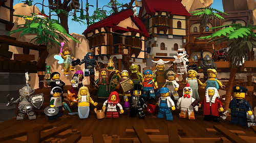 LEGO Minifigures Online pic01