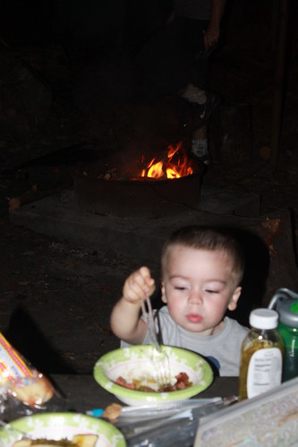 Camping at Prince William Forest Park - Sagan Eats Hot Dogs
