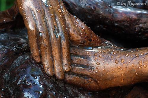 Amore e Morte - scultura di GianFranco Timossi