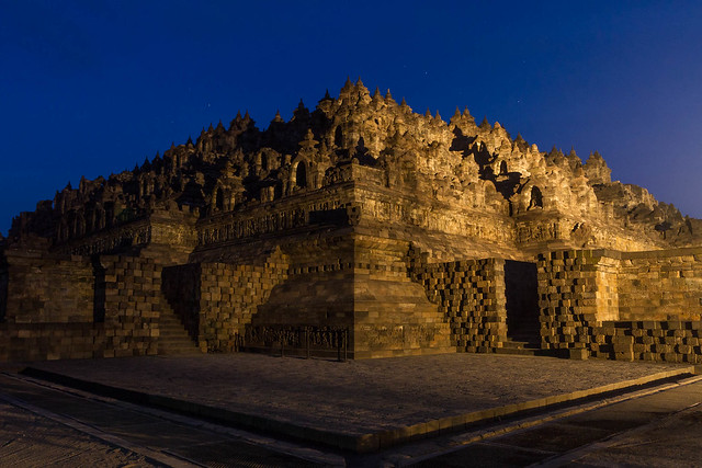 Borobudur before Dawn