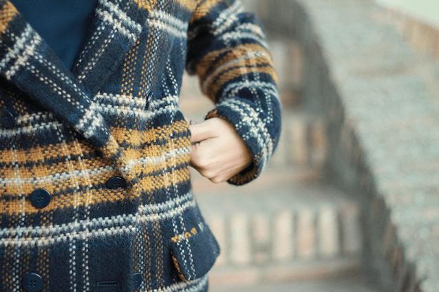 Outfit abrigo zara