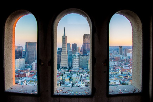 Coit Tower City View