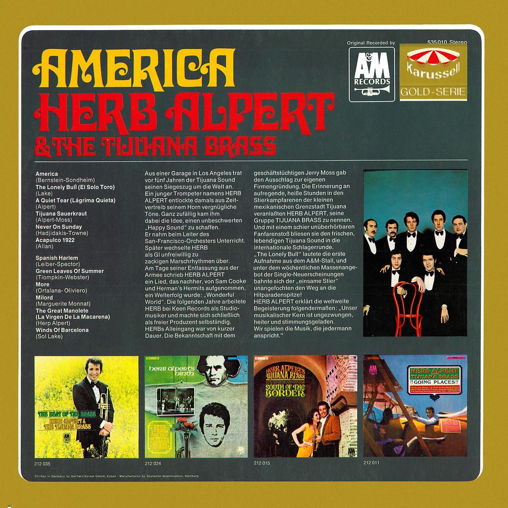 Herb Alpert - America