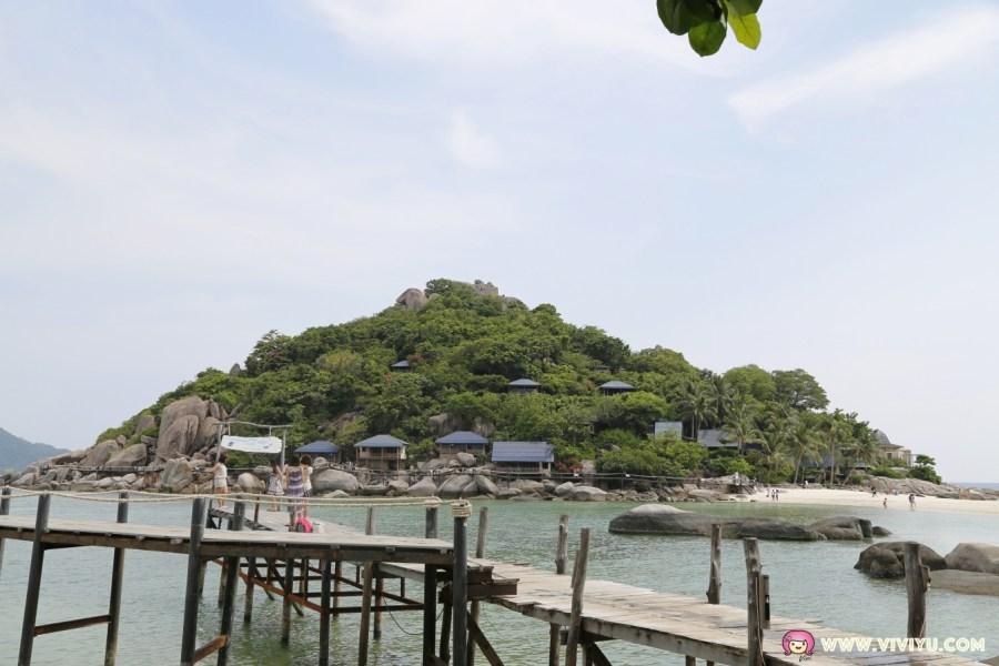 南園島,快挺跳島,泰國旅遊,泰國自由行,浮潛,蘇梅島景點,離島美景,龜島 @VIVIYU小世界