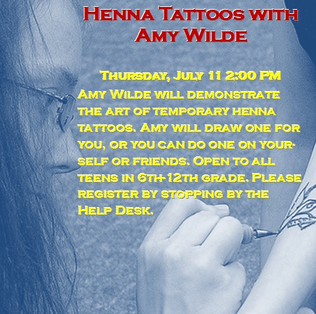 Henna Tattoos with Amy Wilde