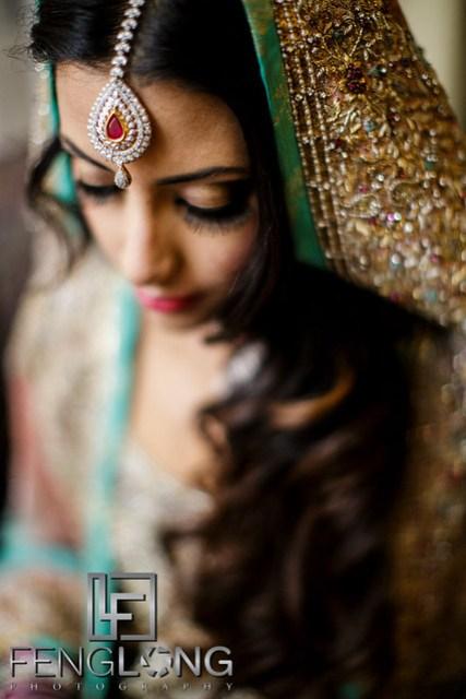 Bengali bride before Valima
