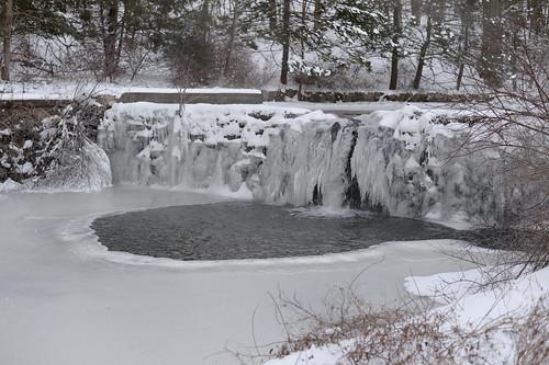 Waterfall along Lakes Road, Monroe, N.Y.