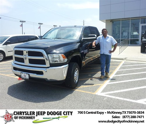 Dodge City of McKinney would like to say Congratulations to Bryan Padgett on the 2013 Dodge Ram by Dodge City McKinney Texas