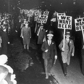 Protesta contra la prohibición