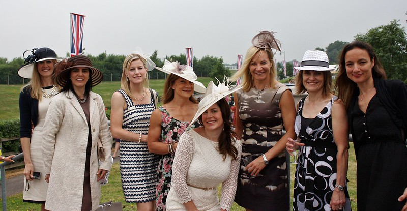 Ascot the ladies
