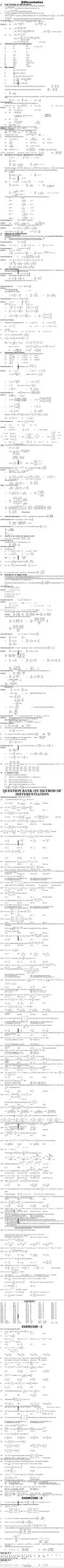 Maths Study Material - Chapter 12