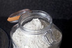 regular old flour will do