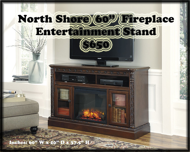 North Shore Fireplace Entertainment