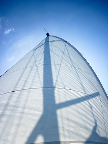 Shadowed sail