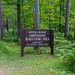Crystal-Muskie Campground sign