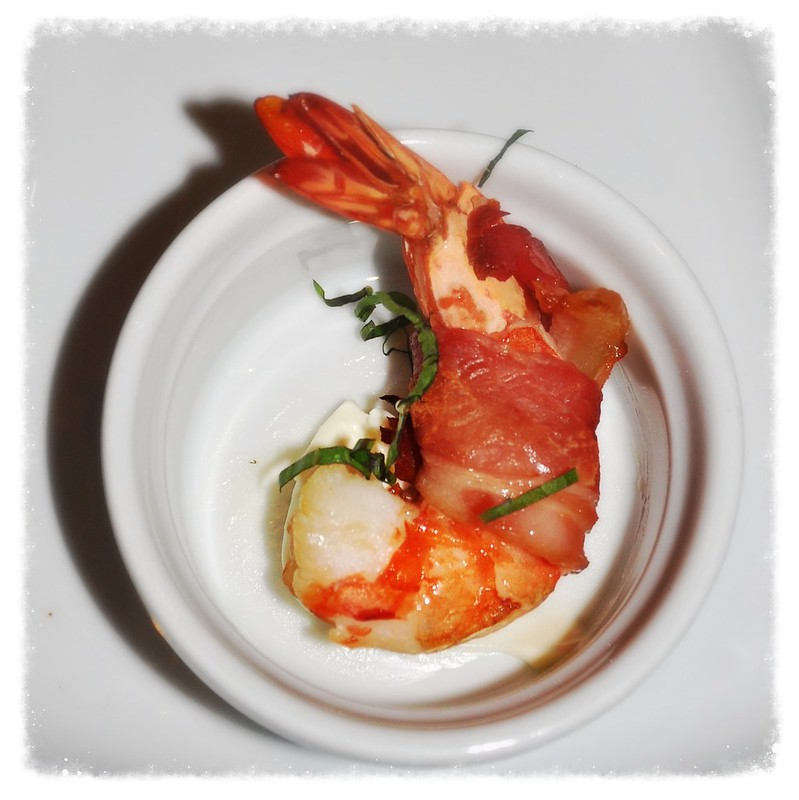 Bacon-Wrapped Prawn
