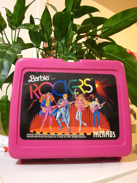 Barbie Lunch Box 1987