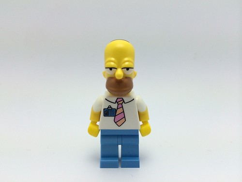 LEGO The Simpsons Homer