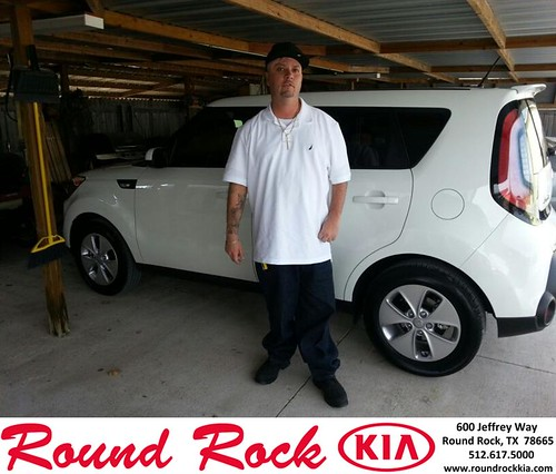 Thank you to Gamaliel Suarez on your new 2014 #Kia #Soul from Fidel Martinez and everyone at Round Rock Kia! #NewCarSmell - Copy by RoundRockKia
