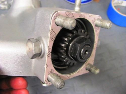 Rear Drive Gasket Installed