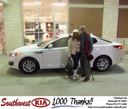 Southwest Kia Rockwall >> Happy Birthday To Krishna Mosley From Jonathan Elizondo And