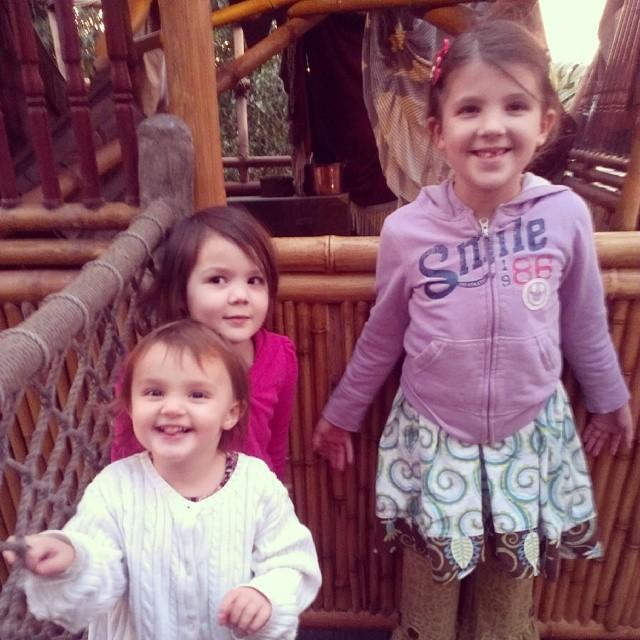 Tarzan's Treehouse! #Disneyland