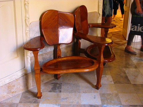 Barcelona, Spain Gaudi La Pedrera House Chair