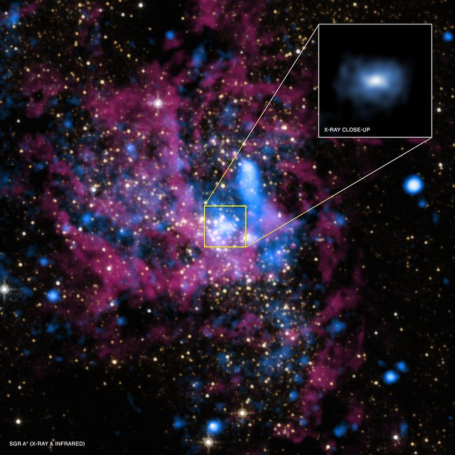 Black Hole Rejects Food (NASA, Chandra, 08/29/13)